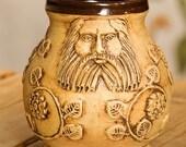 3 x Handmade Medieval Beer Mug - Bartmannskrug