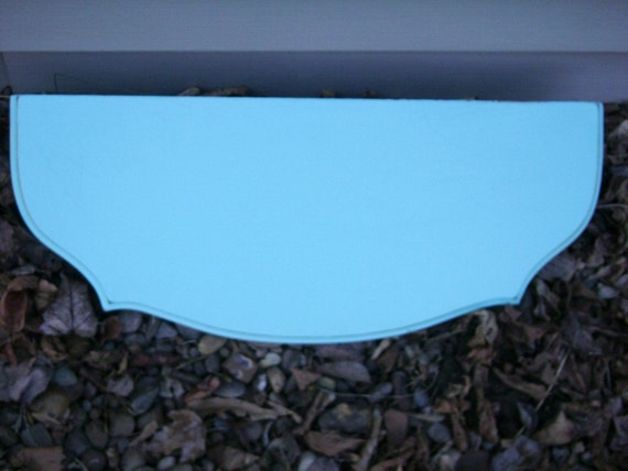 Vintage Shelf, Turquoise, Upcycled,  Country Cottage, Beach House
