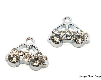 Bling Bling Car Rhinestone Charms... 2pcs
