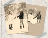 Vintage Christmas Card or Holiday Card