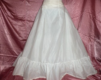 Vintage 50s  Wedding Petticoat SLip By Merry Modes  REDUCED 99.00