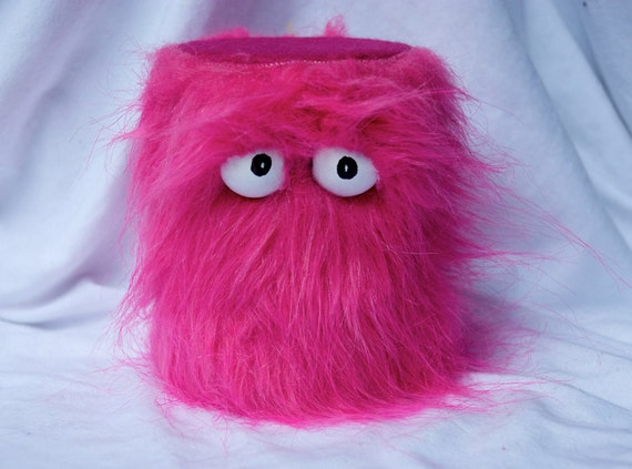 Kids Instruments Shaker - Furry Fuchsia Handmade Durable Eco-Friendly Fun Coolest Shaker Drums For Kids