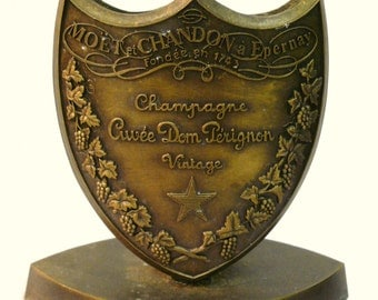 Dom Perignon Champagne Menu or Card Holder