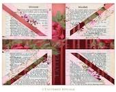 Union Jack Instant Download no.363 Printable Vintage Dictionary Antique Wallpaper Collage Tattered Vintage 363