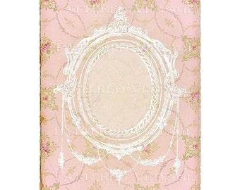 Shabby Elegance Instant Download no.264 Art Journal Cover Antique Wallpaper Collage Sheet Tattered Vintage 264