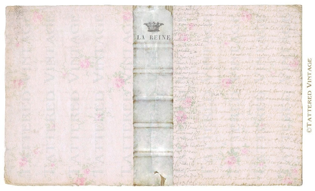 Book Cover Printable Uk : Book cover instant download no la reine by tatteredvintage