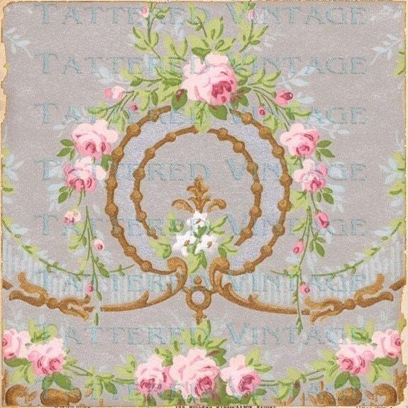 Pin victorian desktop wallpaper 31857 on pinterest for Old french wallpaper