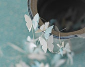 Butterfly Garland - White-and-one