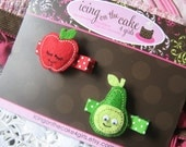 Cutie Fruity No-Slip Clippie Set...Add to her Birthday Gift...Ready to Ship today