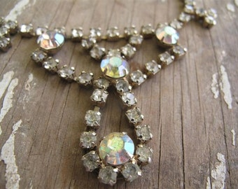 Antique Rhinestone Necklace
