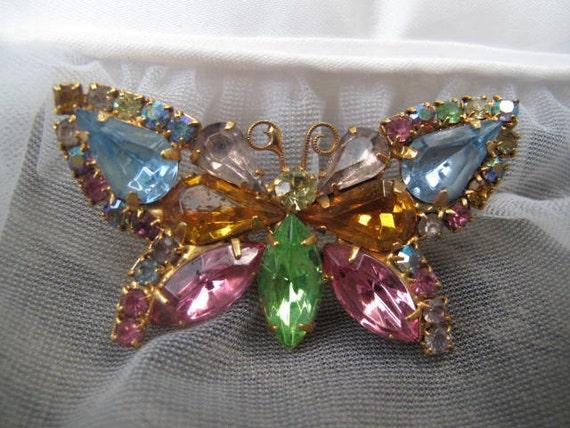 Juliana Style Butterfly Brooch