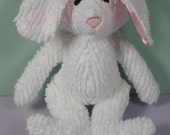 Baby's First Toy Chenille Bunny