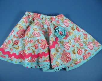 Little Girls Twirlly Skirt
