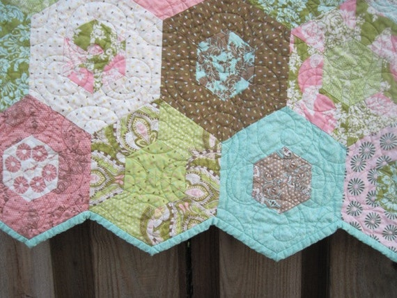 Custom Handmade Baby Quilt Hushabye