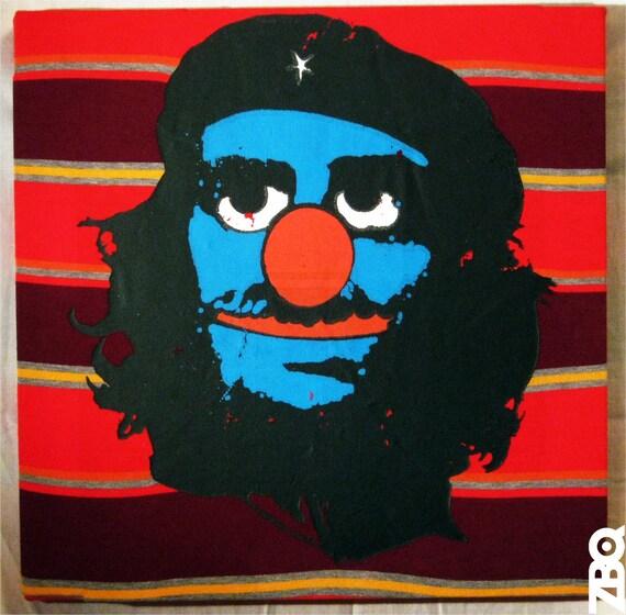 Che Grovera t-shirt canvas