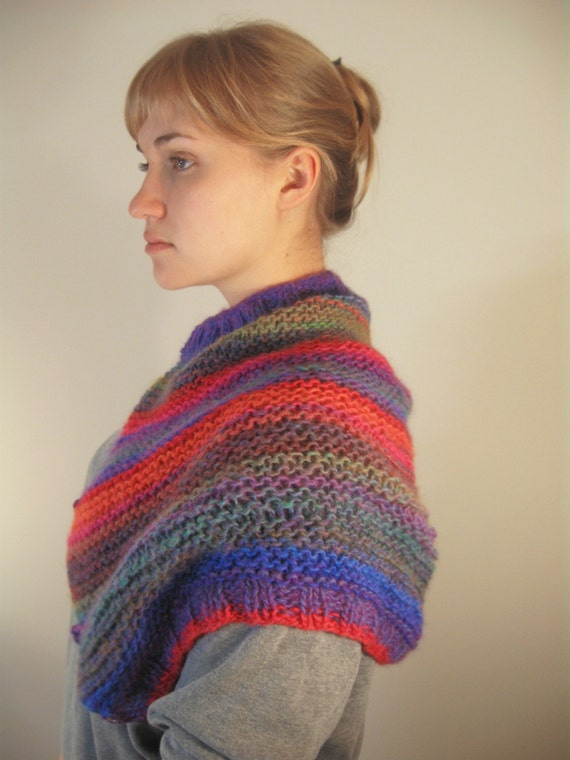 Reserved --Beautifully Multicolored Neck Warmer Transformer