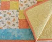 Baby Quilt Handmade Baby Quilt Blanket Noahs Ark - SticksNStonesGifts