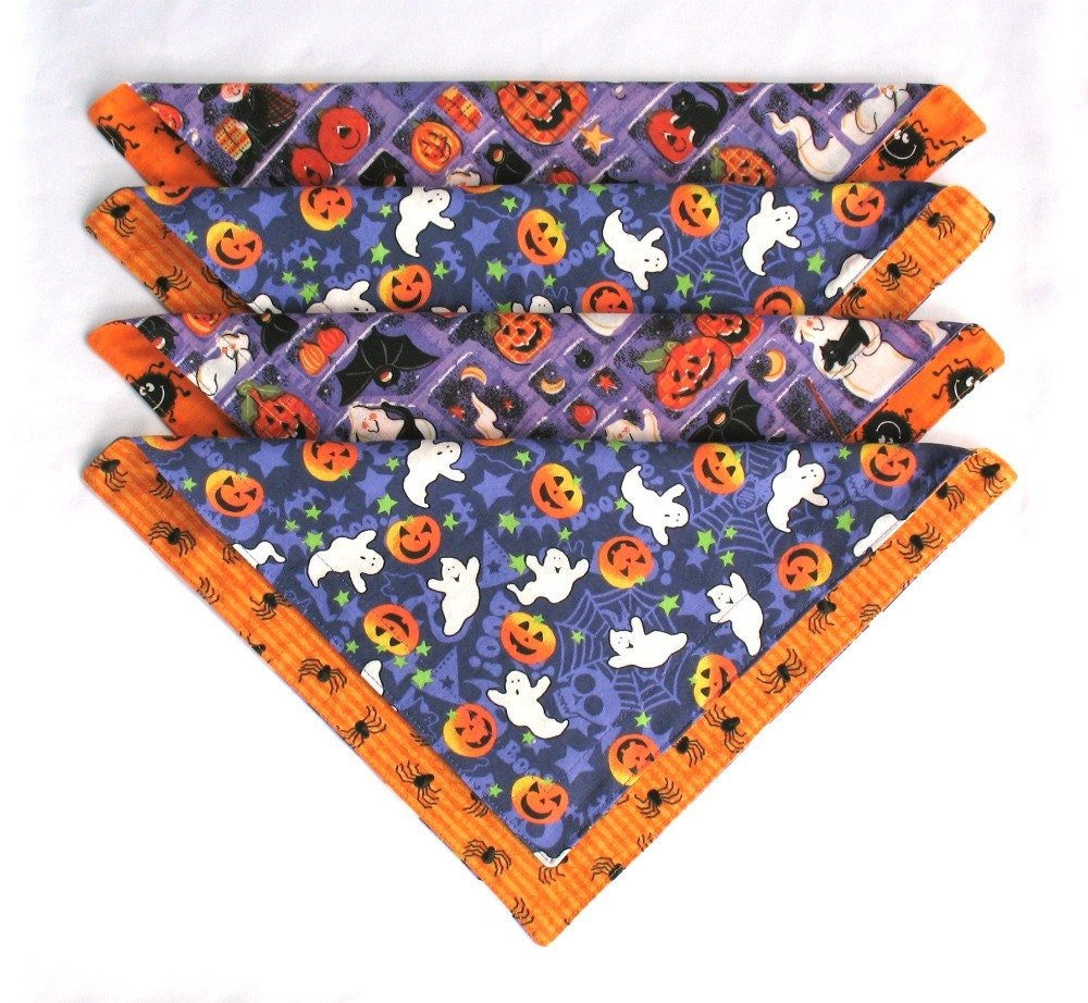 halloween cloth napkins kids lunchbox reusable double sided