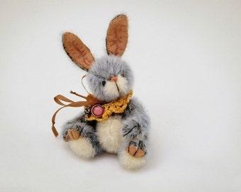 Miniature bunny sewing PATTERN, Stuffed Animal Pattern, PDF Rabbit Pattern, plushie toy pattern, how to make a Rabbit, Easter Rabbit pattern