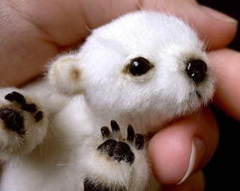 Miniature bear PATTERN (emailed, PDF)  Flocke / by Tatiana Scalozub / Bestseller
