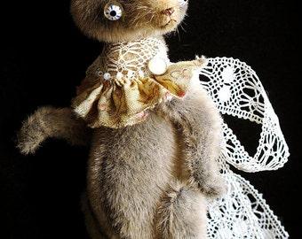 Artist miniature bear PATTERN, making soft toys teddy bear cuttings, plushie sewing patterns, teddy bear pattern pdf, diy small teddy bear