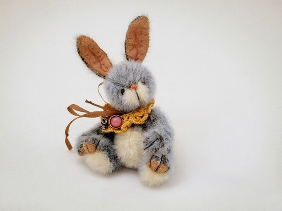 Miniature bunny PATTERN Sir Richard - emailed PDF - by Tatiana Scalozub