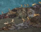 Night of the Killer Rabbits - Horror in Fiber Art
