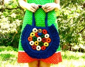 70s FRUIT LOOPS Woven Bag Taste The Rainbow