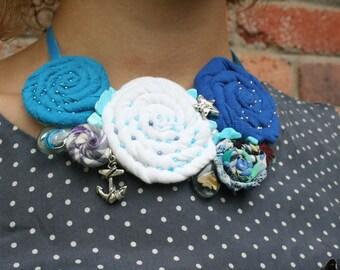 Nautical Blue Necklace