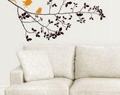 ON SALE ITEM Vinyl Wall Art  Decal Birds on Branches ----Wall Art Home Decor Murals Vinyl Decals Stickers Murals