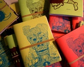Colorful Screenprinted Blank Sketchbooks