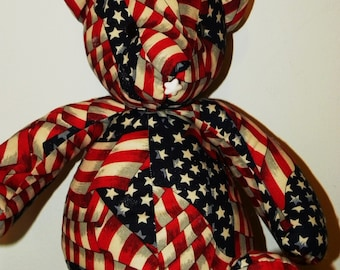 Americana Teddy Bear