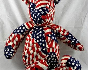Americana Patriotic Teddy
