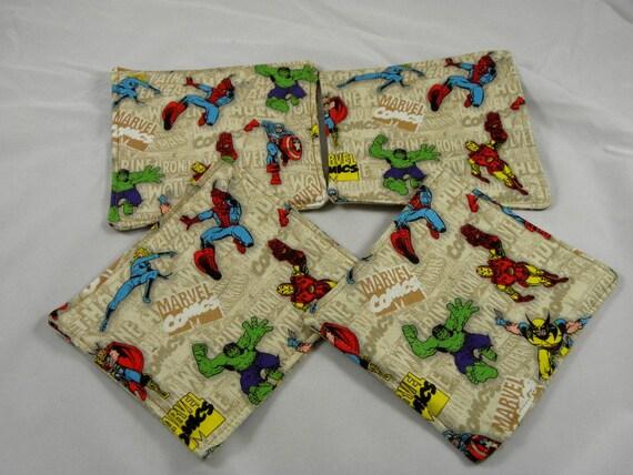 Marvel Set of 4 coasters