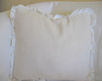 The Caterina Ruffle Pillow