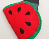 SALE 50% Off - Juicy Red Watermelon iPod / MP3 Case