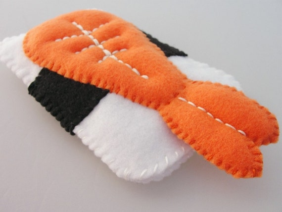 Ebi ( Shrimp ) Sushi Phone Case - IPhone / Droid / IPod Touch