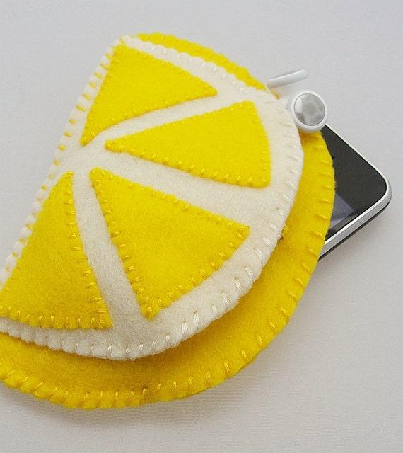 Lemon Citrus Phone Case - IPhone  / Droid / Blackberry / IPod