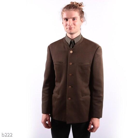 Vintage 70s Full Cover Jacket For Men / Medium
