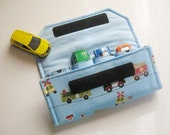 The ORIGINAL Car Wallet with Pocket (holds 4) ... Rescue