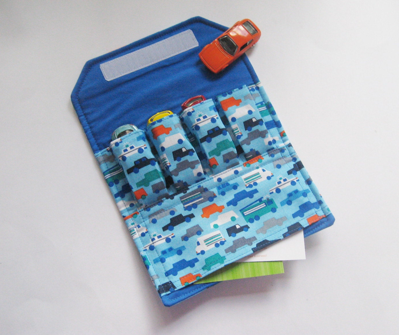 Sew A Toy Car Holder : Kids toy car holder the original wallet by