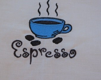 Linen Towel Espresso