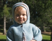 Infant hooded sweater