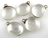 Crystal Through the Looking Glass Nugget Charms (5)