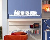 Name Train - vinyl wall decal