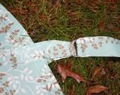 SewBebe Nursing Cover Up plus matching Burp Cloth