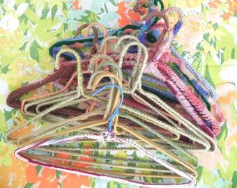 Vintage Crochet Hanger Collection