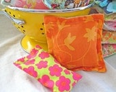 Just Lavender Sachets - The Lavender Road - Great for Your Home or Dryer - Surprise Fabric Selection - 2 Sachet Set