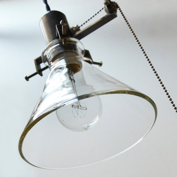 Items Similar To Rustic Light Pendant Lighting Pulley On Etsy: Items Similar To Machine Shop Industrial Pendant Lawrence