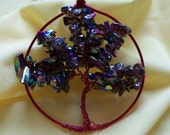 Luster Glass Chips Tree of Life